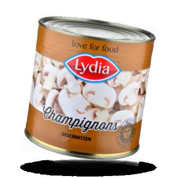 Lydia Champignons geschnitten