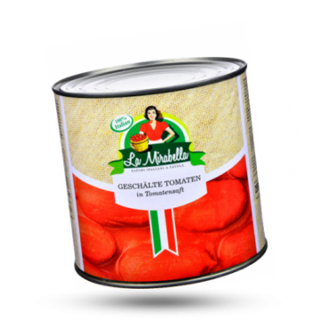 La Mirabella Geschälte Tomaten
