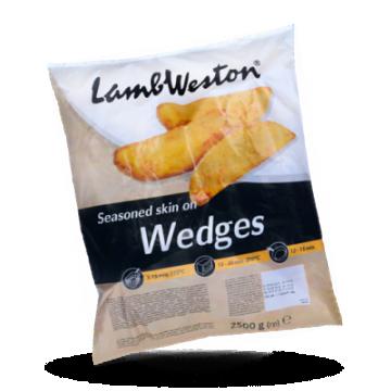 LambWeston Skin on Wedges