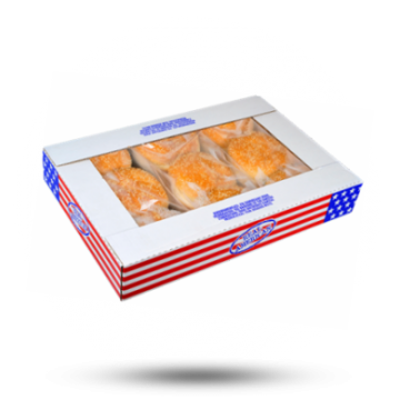 Real American Hamburgerbrötchen