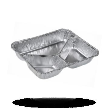 Aluminium Menüschalen