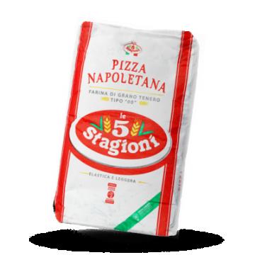 5 Stagioni Pizzamehl Napoletana Rossa