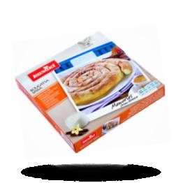 Spiral-Kuchen Filoteig mit Vanillecreme, tiefgefroren