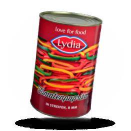 Gemischte Tomatenpaprika Streifen, 8mm