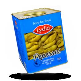 Griechische Peperoni Mild im Geschmack