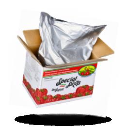 Italienische Tomaten Pulpe 6x6mm Bag in Box