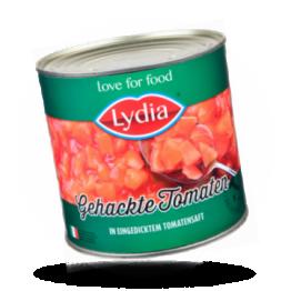 Gehackte Tomaten In eingedicktem Tomatensaft