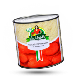 Geschälte Tomaten In eingedicktem Tomatensaft