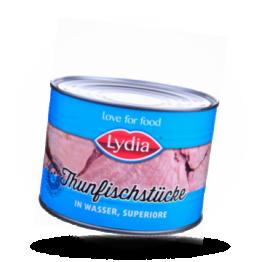 Thunfischstücke In Wasser, superiore