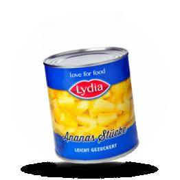 Ananasstücke In leichtem Sirup