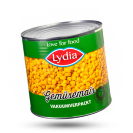 Maiskörner Vakuumverpackt