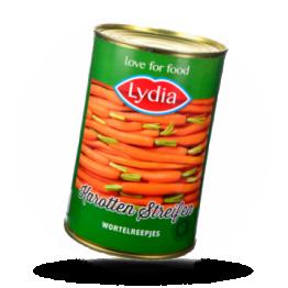 Karottenstreifen Fein