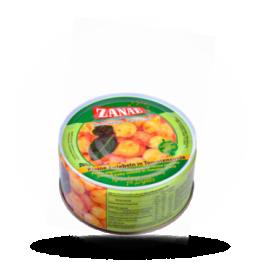 Kleine Zwiebeln Kleine Zwiebeln in Tomatensauce