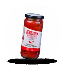 Geröstete Paprika Rot