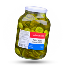 Dill-Chips Gurkenscheiben