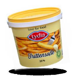 Pommes-frites Soße Cremig und frisch 25%