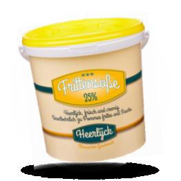 Frittensoße Frisch und cremig, 25%