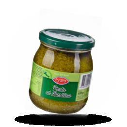 Pesto al Basilico Mit Basilikum