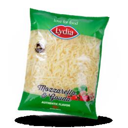 Geraspelter Mozzarella & Gouda Käse 5mm, 45%