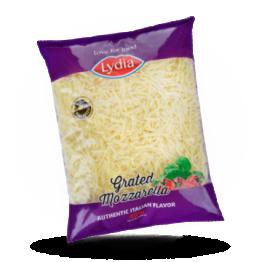 Geraspelter Mozzarella 40%