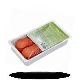 Geschnittener Peperoni Salami Truthahn und Rindfleisch, Halal