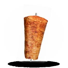 Shawarma-Spieß Schweinefleisch, normal gewürzt, tiefgefroren