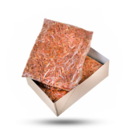 Shawarma-Streifen Lamm-/Putenfleisch, gewürzt, halal, tiefgekühlt