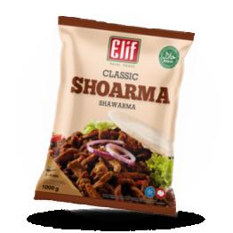 Shawarma-Streifen Halal, tiefgefroren