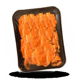 Lachs-Chips Tiefgefroren