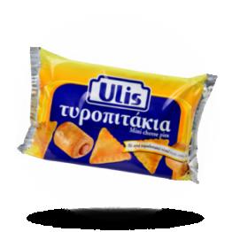 Weißer Käse in Blätterteig Herzhafter Snack, tiefgefroren
