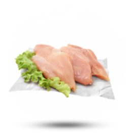 Hähnchenbrustfilet ohne Fett 140G+, Halal, Brasilien, tiefgefroren