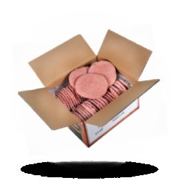 Hamburger gewürzt Rindfleisch pur, lecker gewürzt, tiefgefroren