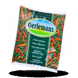 Erbsen-Karotten Mix Gemischt,  tiefgefroren