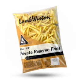 Private Reserve Fries F64 9x9mm tiefgefroren