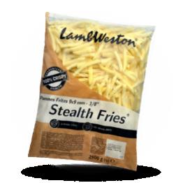 Stealth Fries S04 9x9mm 100% crispy tiefgefroren