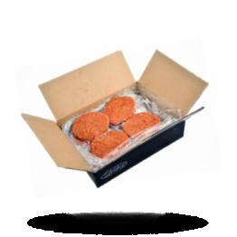 Rindfleisch-Hamburger Halal, tiefgefroren