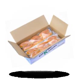 Snackbrötchen Weiß, vorgeschnitten, tiefgefroren