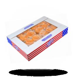 Hamburgerbrötchen Mit Sesam, geschnitten, tiefgefroren