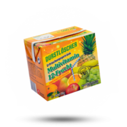 12 Fruchtsaft Getränk Multivitamin
