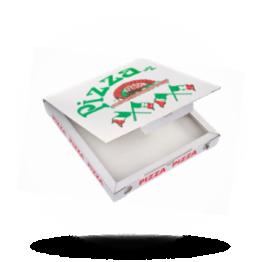 Pizzabox 22x22x3cm, C., Italienische Flagge