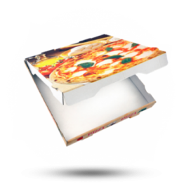 Pizzabox 30x30x4cm, Fr. Kraft