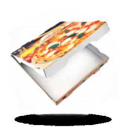 Pizzabox 31x31x4cm, Fr. Kraft