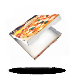 Pizzabox 20x20x4,2cm Francia Kraft