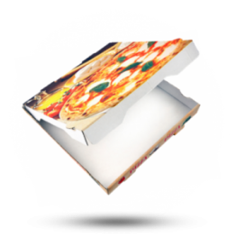 Pizzabox 30x30x4cm Francia Kraft
