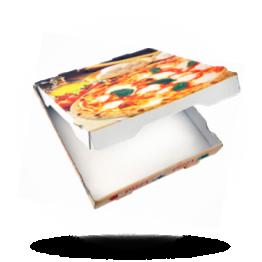 Pizzabox 40x40x4cm C. Kraft