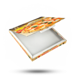 Pizzabox 30x30x3cm C. Kraft/Kraft