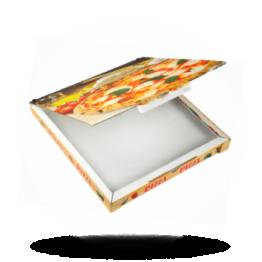 Pizzabox 30x30x3cm C. Kraft/Kraft