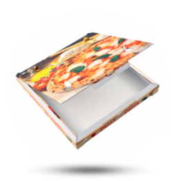 Pizzabox 32x32x3cm C. Kraft/Kraft