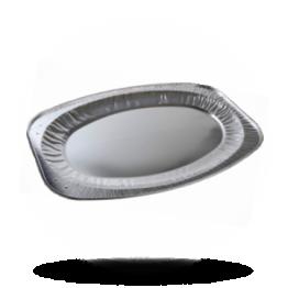 Aluminium Cateringplatten Ø 55cm oval