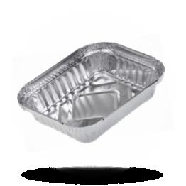 Aluminium Schalen 325cc, 140 x 115 x 25mm 127L (R27)
